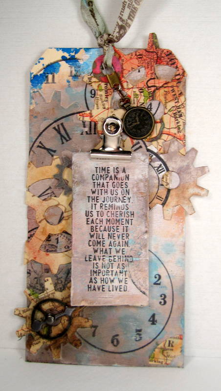 Tim Holtz 12 Tags of 2013; January