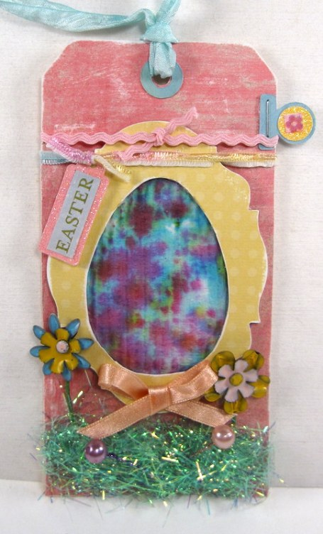 March Easter Egg Tag