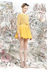 Red Valentino Fall 2013 (from style)