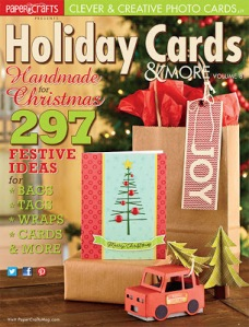 Papercrafts Holiday issue cover